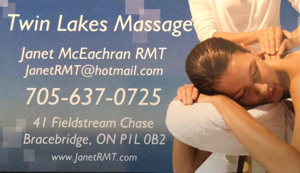 Twin Lakes Massage - Janet RMT logo