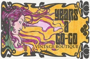 Years A Go-Go Vintage Boutique logo