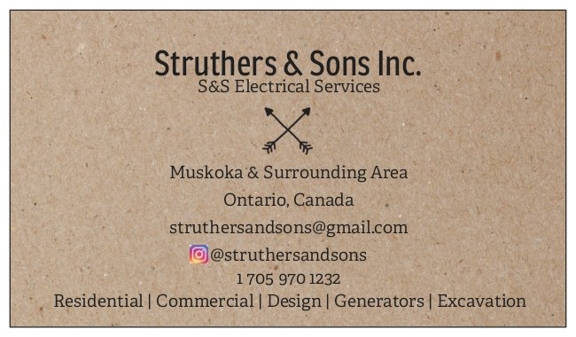 Struthers & Sons Inc. Electrical Services image 0